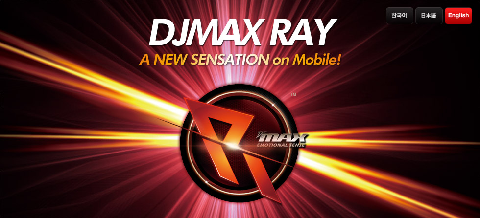 A NEW SENSATION on Mobile! DJMAX RAY
